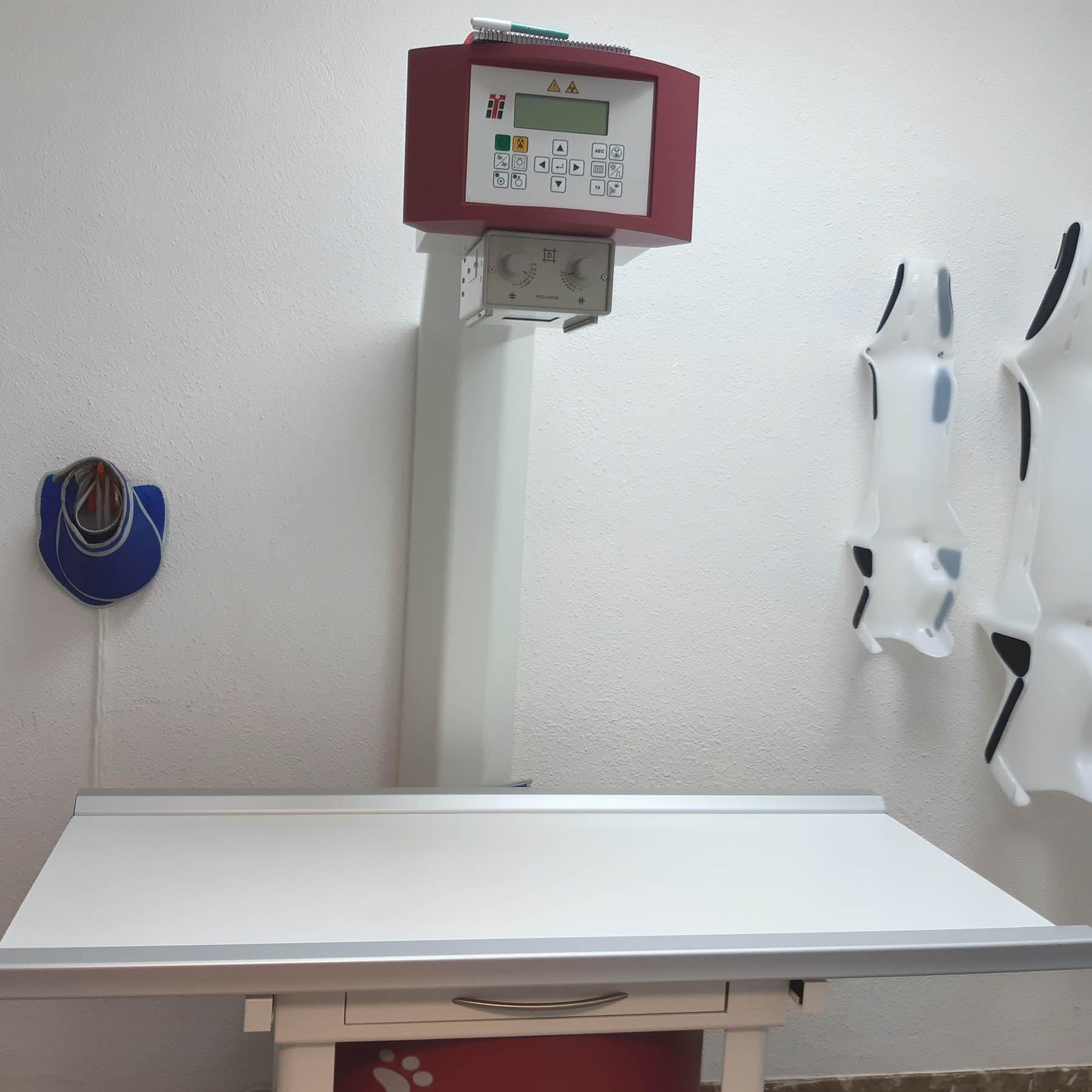 Instalaciones Borges Vet: Radiología