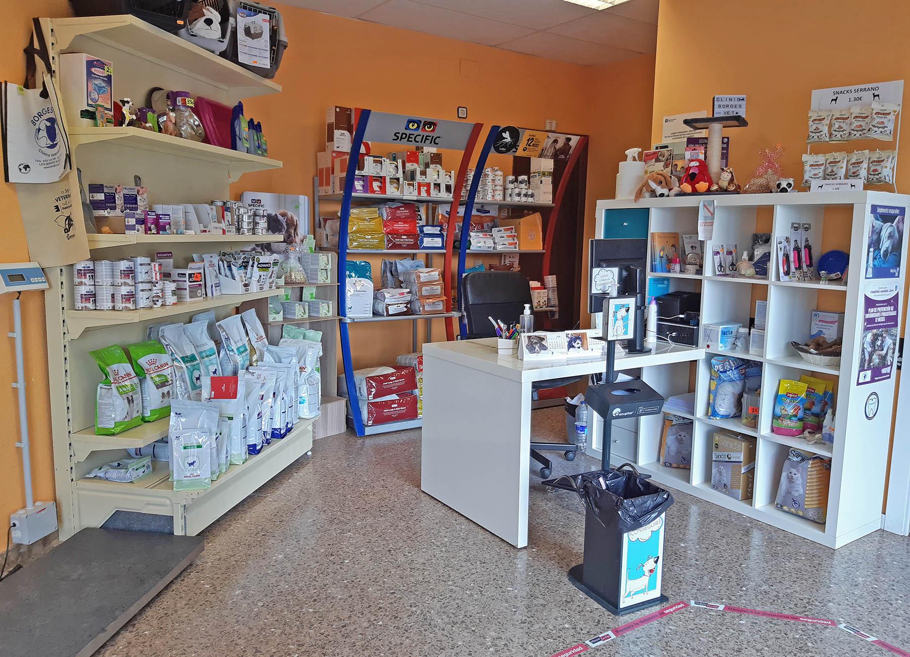 Instalaciones Borges Vet: Tienda especializada